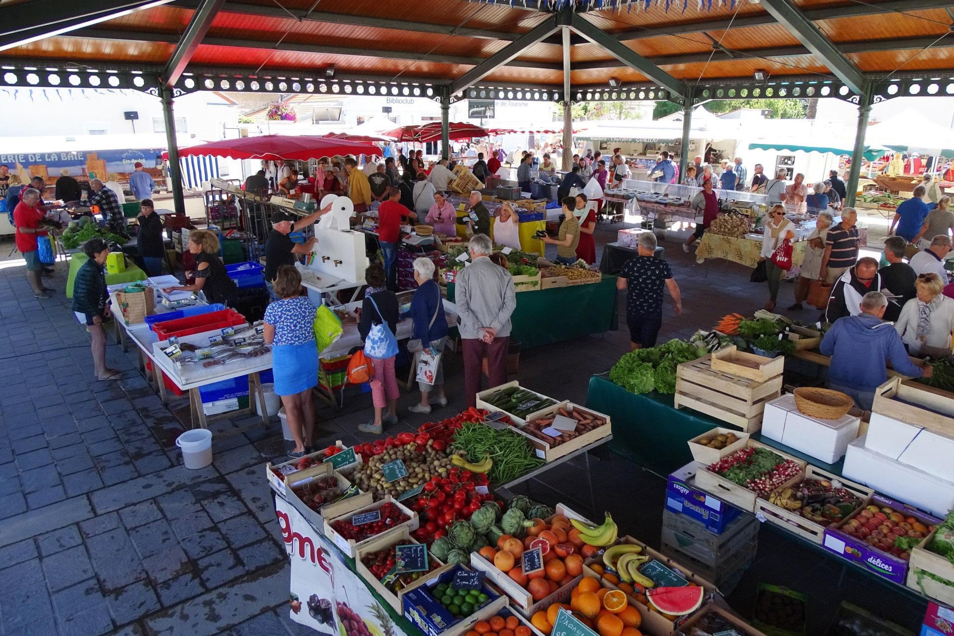 Les marchés à La Bernerie-en-Retz