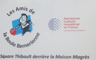 Les Boules Berneriennes reconnues par l'Unesco