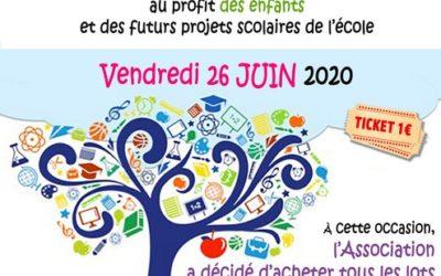 Tombola de l'école René Guy Cadou