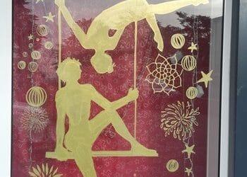 Jeu des vitrines : le cirque de Noël